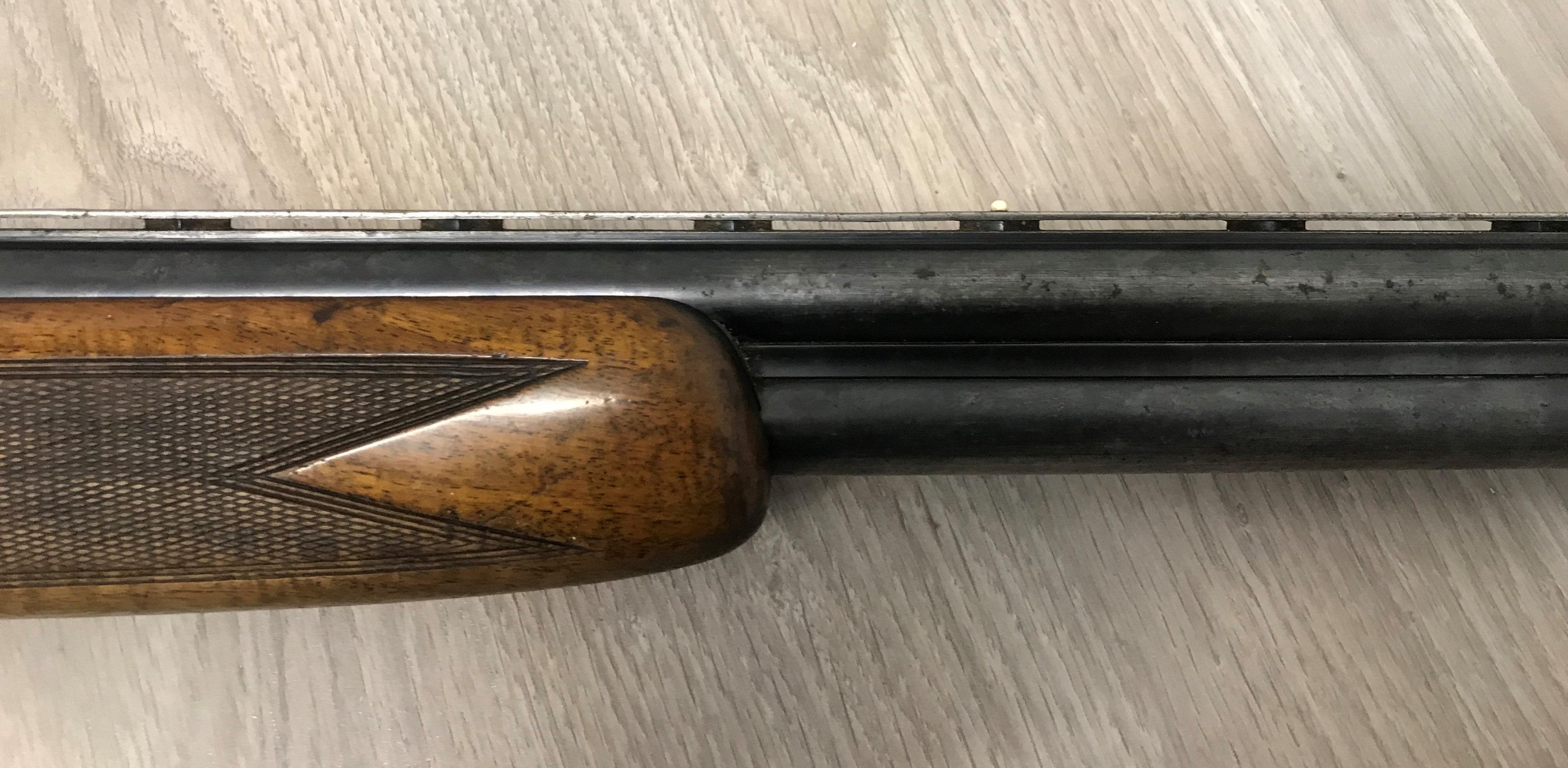 Fusil de chasse superposé BROWNING LIEGE Cal  12/70