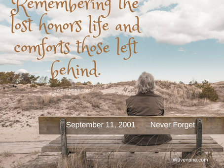 Remembering the lost honors life and comforts those left behind