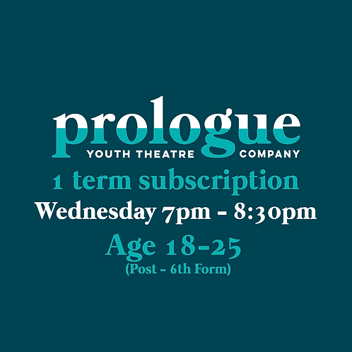 Wednesday age 18-25 - 1 term subscription