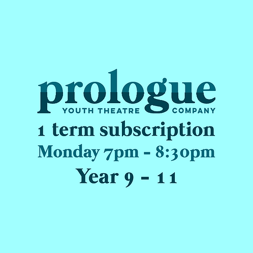 Monday Year 9-11 - 1 term subscription