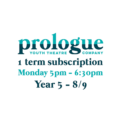 Monday Year 5-Year 8/9 - 1 term subscription