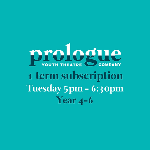 Tuesday Year 4-6 - 1 term subscription