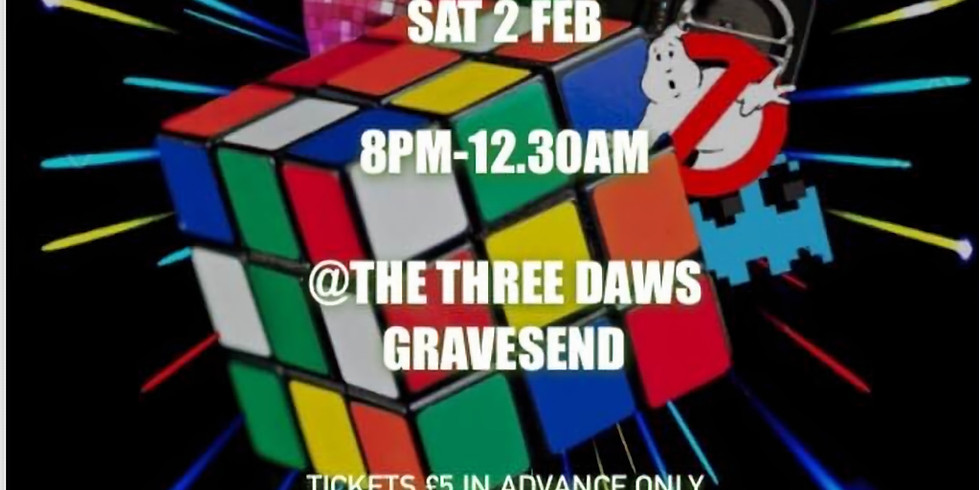 Twister Groove's 80's & 90's Disco at The Three Daws Public house Gravesend Kent