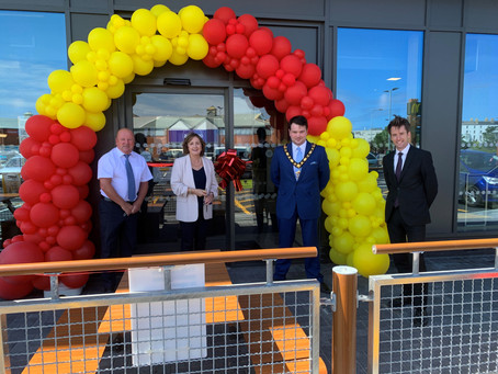 Aberconwy MS Opens McDonald's
