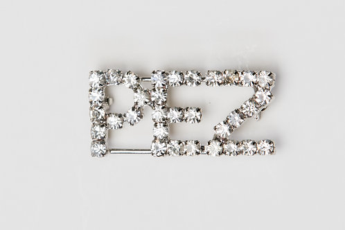 PEZ Clear Bling Pin