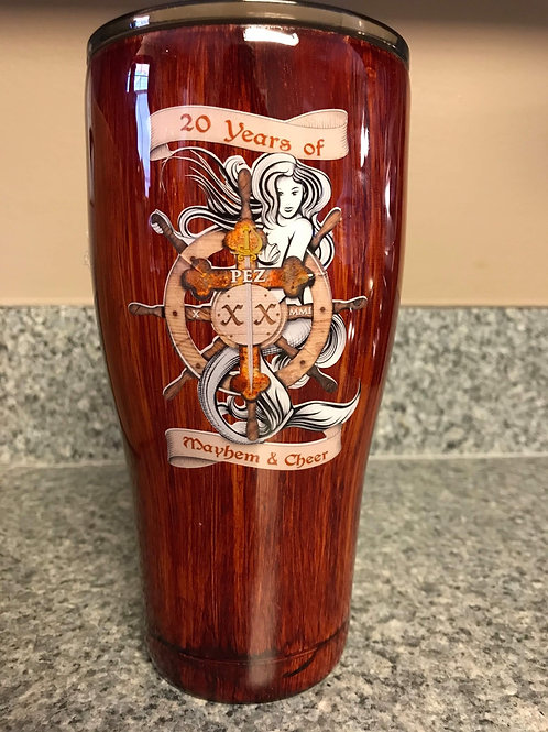 XX Anniversary 30 ounce Tumbler w/ Lid