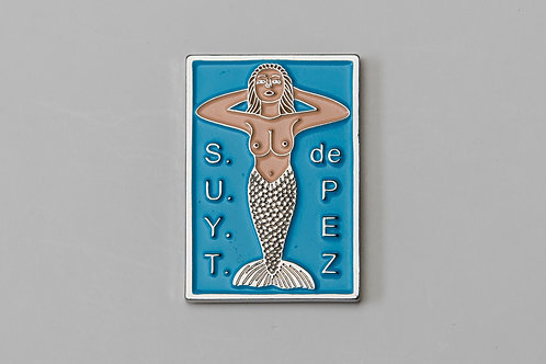 Mermaid Show Us Your Tits Enamel Pin