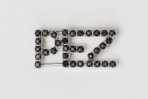 PEZ Black Bling Pin
