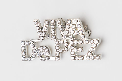 Viva De Pez Bling Pin