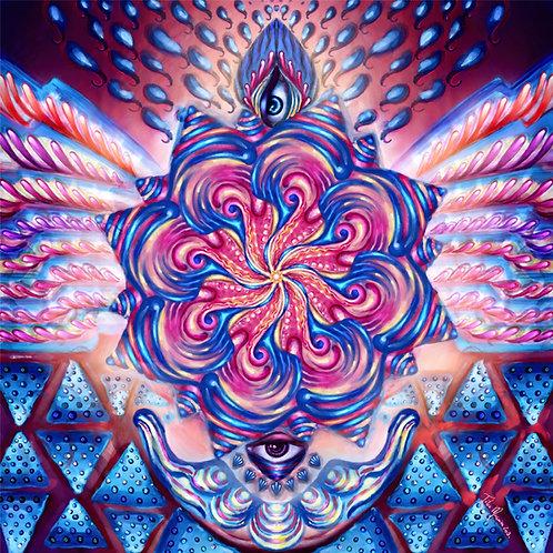 Print Fine Art Mandala-Criação