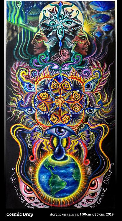 Cosmic Drop Print