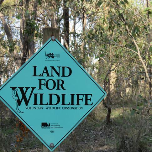 Land for Wildlife status