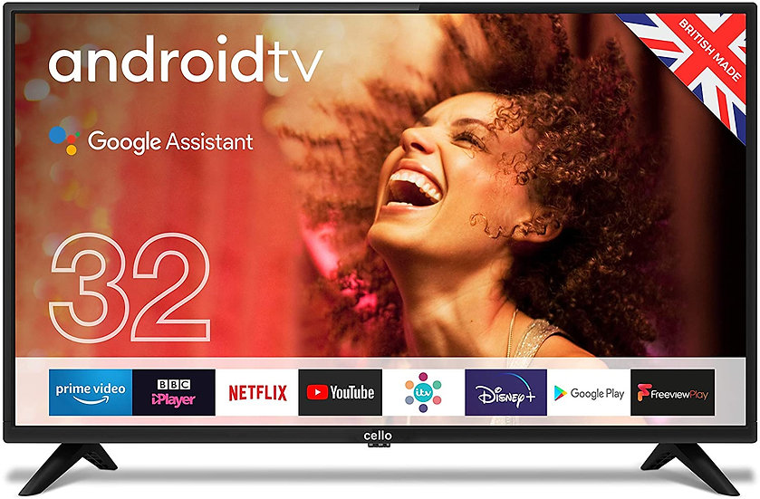"""Cello C3220G 32"""" Smart Android TV"""