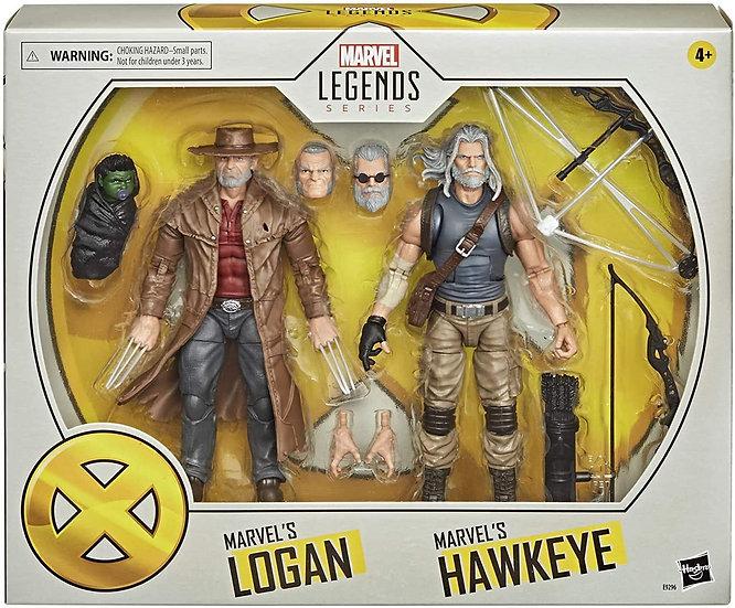 Hasbro X-Men Series 15-cm Marvel's Hawkeye and Logan