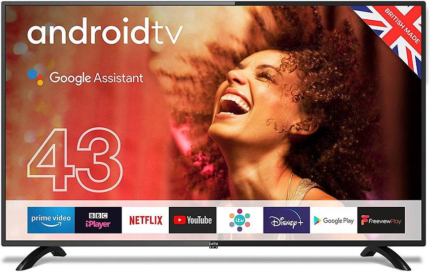 """Cello ZG0234 43"""" Smart Android TV"""