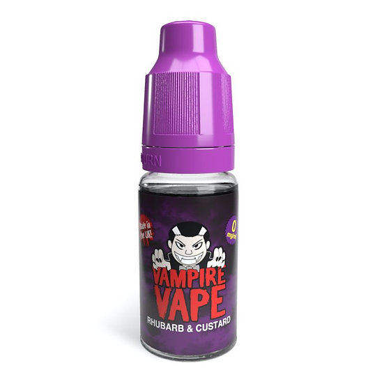 Rhubarb & Custard - 10ml Vampire Vape E-Liquid