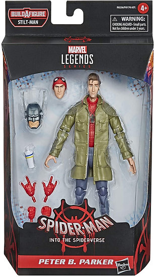 Hasbro Series Spider-Man: Into the Spider-Verse Peter B. Parker