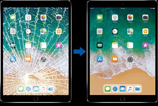 Apple iPad Glass Repair Service