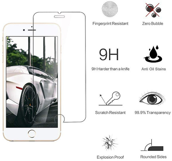 copy of Tempered Glass Screen Protector (For iPhone 6/6S/7/8/SE)