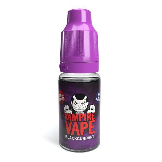 Blackcurrant - 10ml Vampire Vape E-Liquid