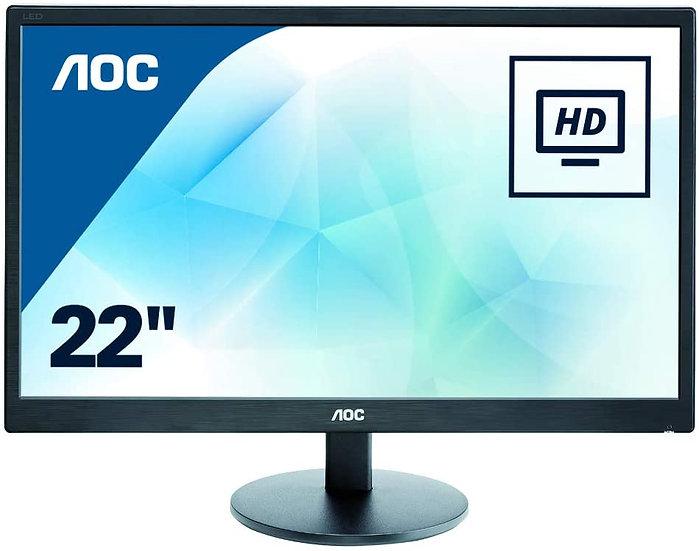 AOC E2270SWDN - 22 Inch FHD Monitor