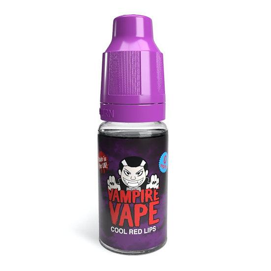 Cool Red Lips - 10ml Vampire Vape E-Liquid