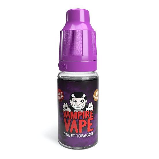 Sweet Tobacco - 10ml Vampire Vape E-Liquid