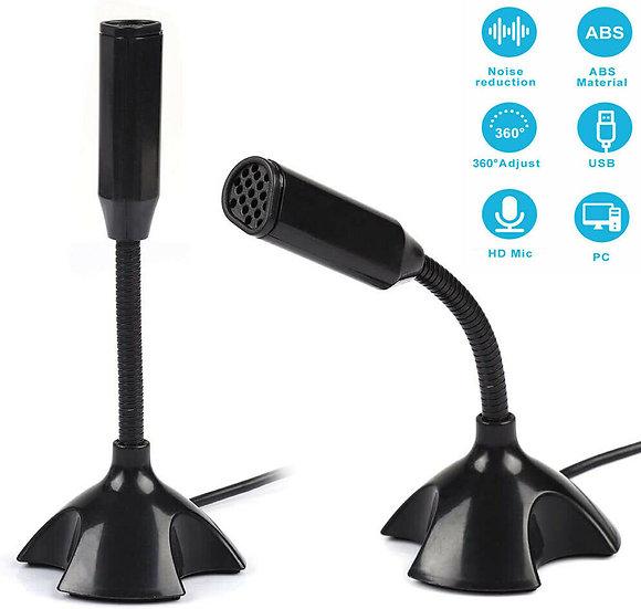 Neck Adjustable USB Mini Desktop Microphone