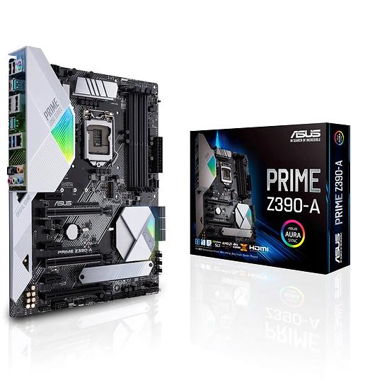 ASUS Prime Z390-A LGA1151 (Intel 8th and 9th Gen) ATX DDR4 DP HDMI M.2 USB 3.1 G