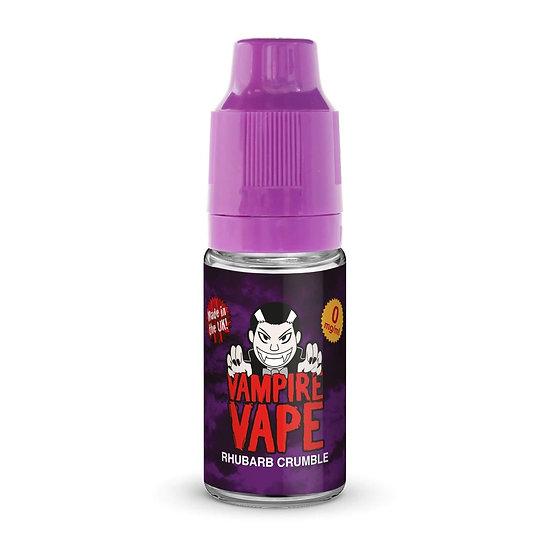 Rhubarb Crumble - 10ml Vampire Vape E-liquid