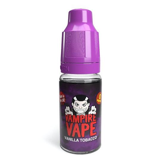 Vanilla Tobacco - 10ml Vampire Vape E-liquid