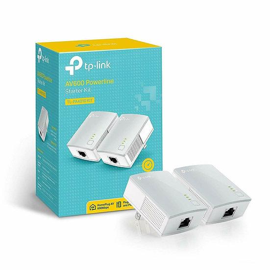 TP-LINK Powerline AV600 Nano Adapter Starter Kit TL-PA4010KIT V1.20
