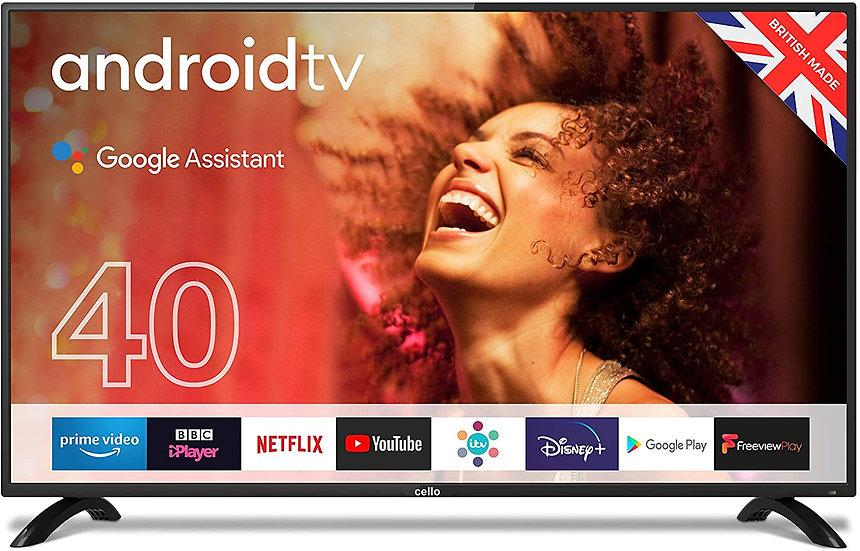 """Cello ZG0204 40"""" Smart Android TV"""