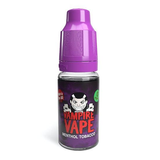 Menthol Tobacco - 10ml Vampire Vape E-Liquid