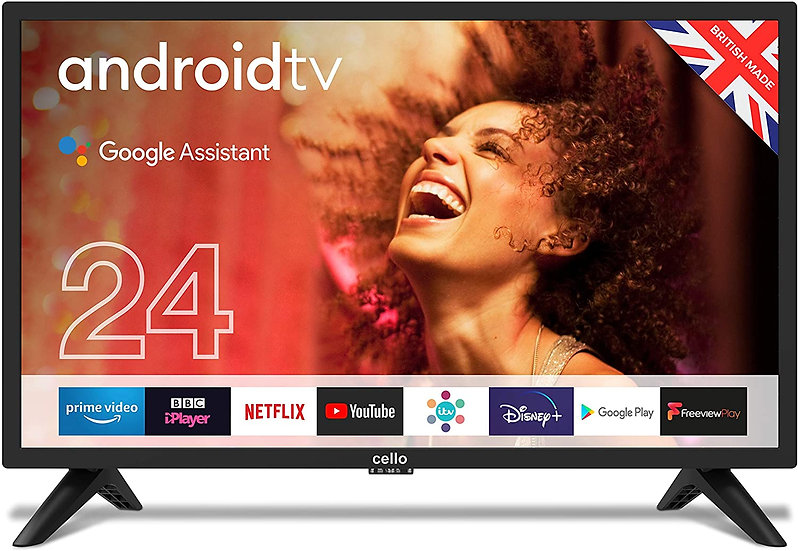 """Cello C2420G 24"""" Smart Android TV"""