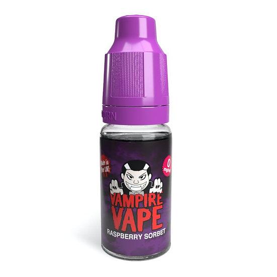 Raspberry Sorbet - 10ml Vampire Vape E-Liquid