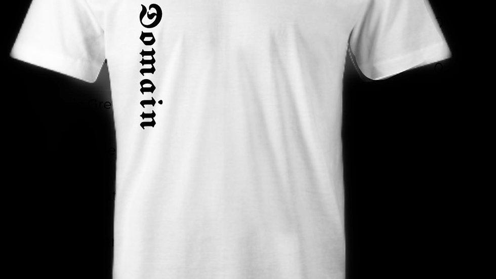 Domain Logo Diamond Back T-Shirt