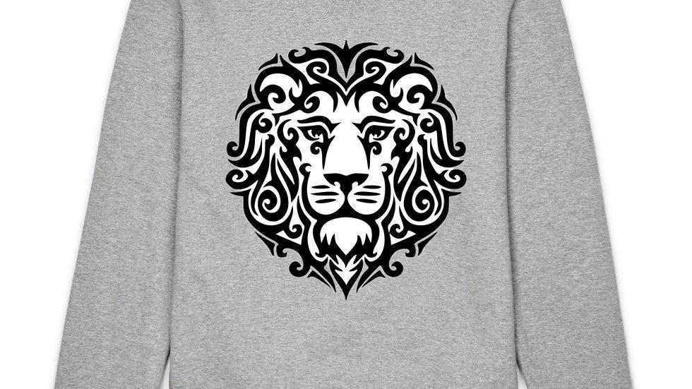Lion Sweatshirt with Logo Back