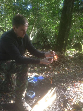 We provide many methods of fire lighting, a necessary Bushcraft and survival tool at your disposal