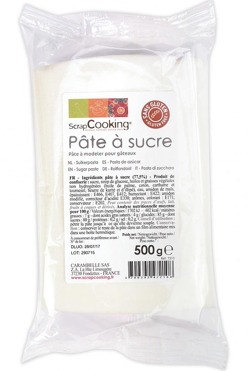 ScrapCooking Pâte à sucre blanche 500gr