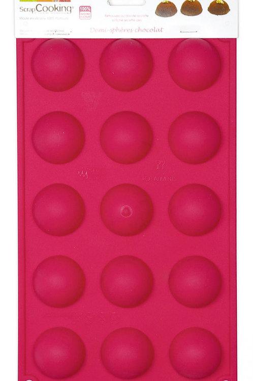 ScrapCooking Moule silicone 15 demi-sphères