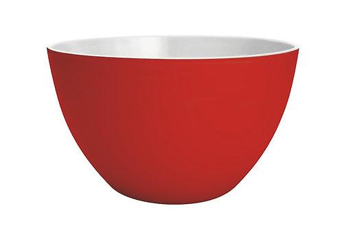 ZAK DESIGNS | Saladier Duo rouge / blanc 22 cm