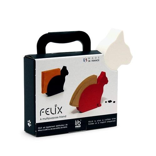 LIB   Felix porte-serviette chat