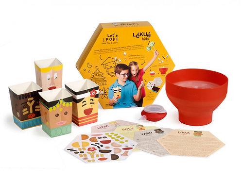 Lékué Kit Pop Corn pour enfant