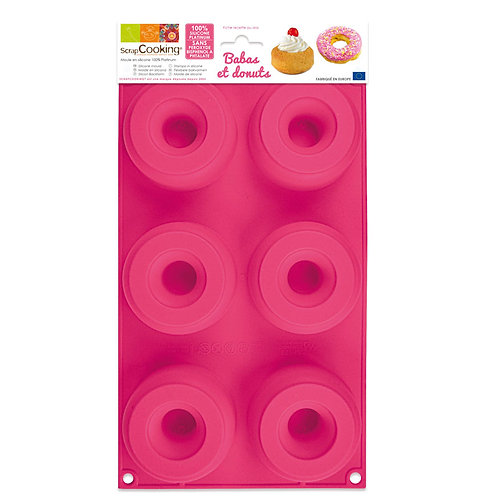 ScrapCooking Moule silicone baba et donuts