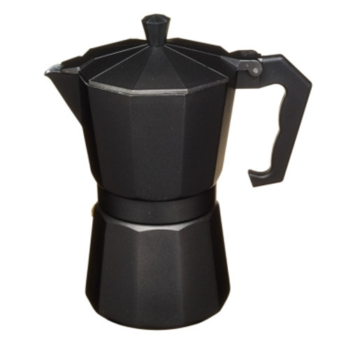 KitchenCraft Cafetière 6 tasses noir mat