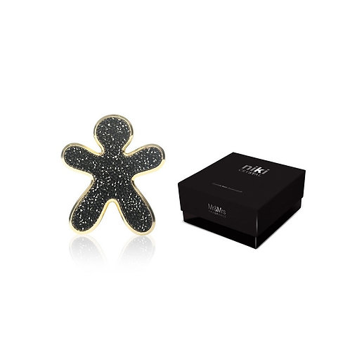 NIKI Cristaux Swarovski noir-or - Mr & Mrs Fragrances