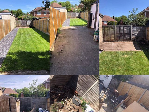 garden clearnce and maintenace