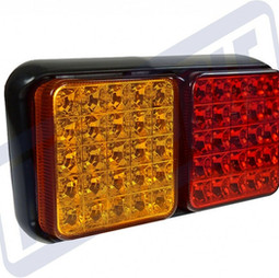 LED dual modual lamp
