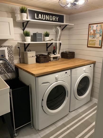 Ryan & Shannon Laundry Room